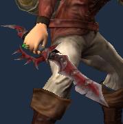Yellowed Bone Dagger (Equipped)