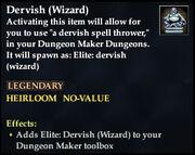 Dervish (Wizard)