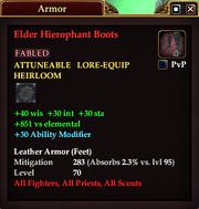 Elder Hierophant Boots