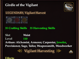 Girdle of the Vigilant