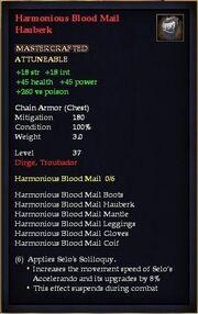 Harmonious Blood Mail Hauberk