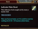Judicator Palm Heart