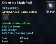 Orb of the Magic Wall