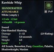 Rawhide Whip