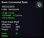Runic Ceremonial Boots