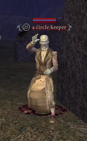 A circle keeper