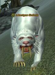 A frostpaw direbear