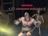 A tormented steelworker
