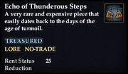 Echo of Thunderous Steps