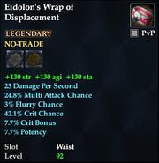 Eidolon's Wrap of Displacement