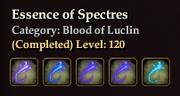 Essence of Spectres