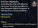 Evil Eye (Warlock)