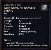 Geldrani's Vial