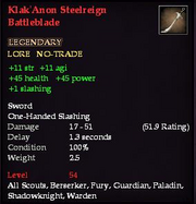 Klak'Anon Steelreign Battleblade