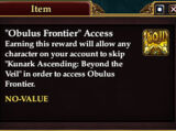 Obulus Frontier Access