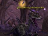 An ambushing withertalon matron