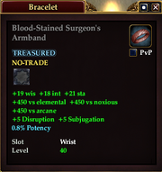 Blood-Stained Surgeon's Armband