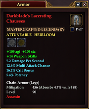 Darkblade's Lacerating Chausses