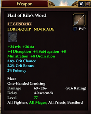 Flail of Rile's Word