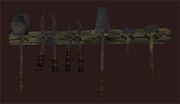 Halfling-tool-rack