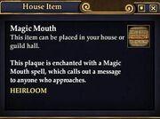 Magic Mouth