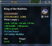 Ring of the Bubbles