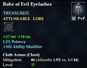 Robe of Evil Eyelashes