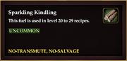 Sparkling Kindling