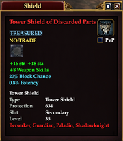 Tower Shield of Discarded Parts