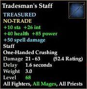 Tradesman's Staff