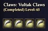 Vultak Claws