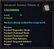 Advanced Armorer Volume 31