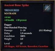 Ancient Bone Spike