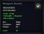 Bhorgese's Bracelet
