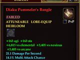 Diaku Pummeler's Bangle