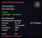 Great Marrowsplinter