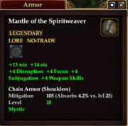 Mantle of the Spiritweaver