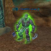 A Deathfist savage (Clefts of Rujark)