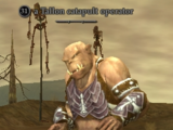 A Tallon catapult operator