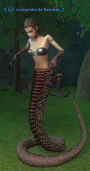 A serpentscale harridan