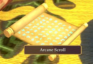Arcane Scroll