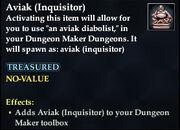 Aviak (Inquisitor) - Common