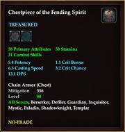 Chestpiece of the Fending Spirit