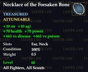 Necklace of the Forsaken Bone
