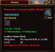 Preserver's Cured Leather Boots