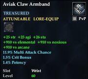 Aviak Claw Armband