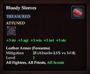 Bloody Sleeves