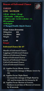 Bracers of Enlivened Chance