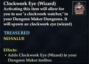 Clockwork Eye (Wizard)