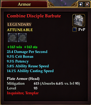 Combine Disciple Barbute
